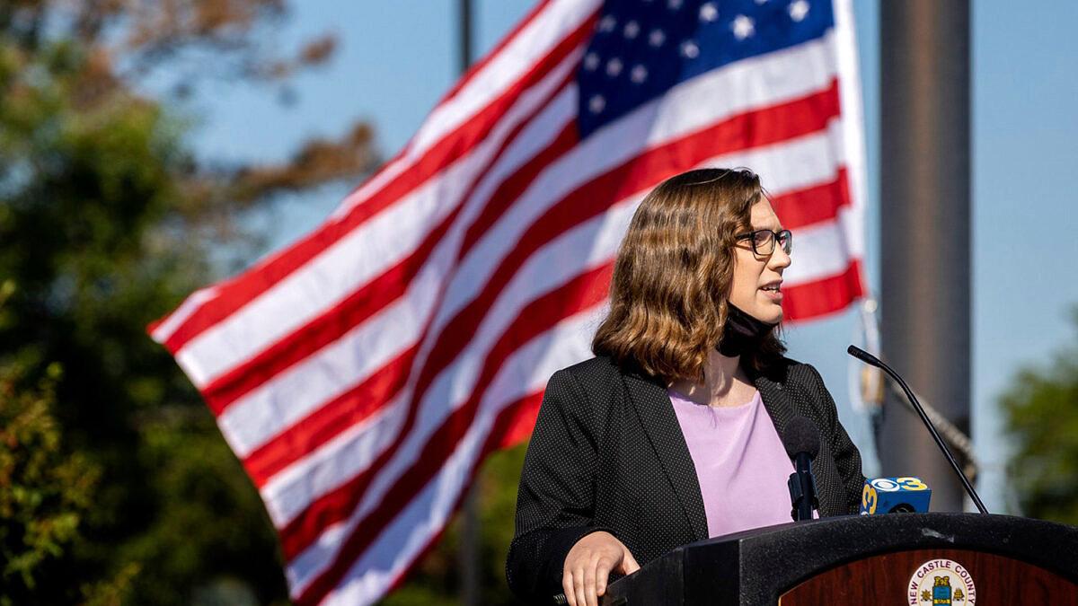Sarah McBride é eleita a primeira senadora trans dos Estados Unidos