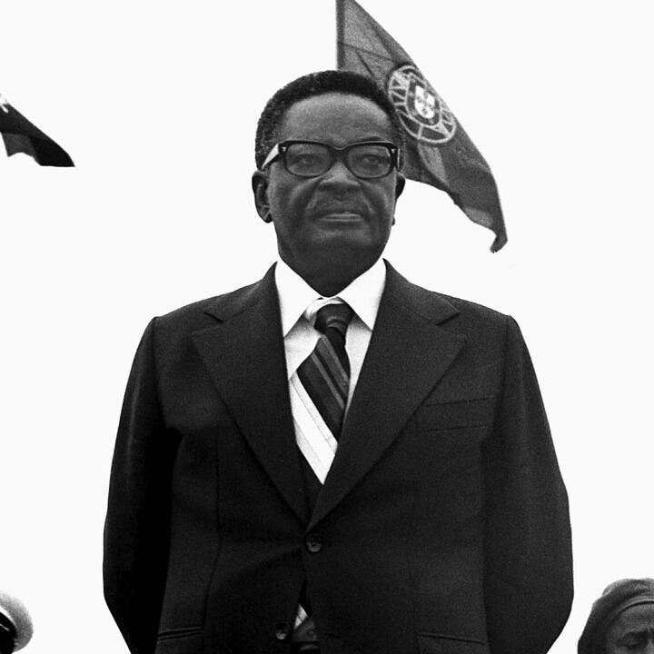 Agostinho Neto, líder do MPLA (Foto: Reprodução)