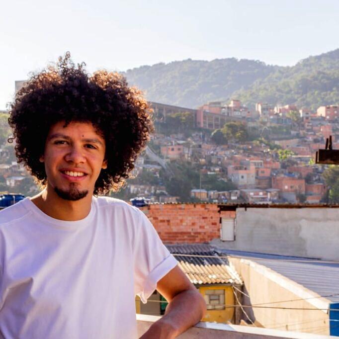 A primeira vez que Gabriel Jadson falou sobre sua orientação sexual foi para os amigos da Pastoral da Juventude da Região Episcopal Brasilândia (Foto: Arquivo Pessoal)