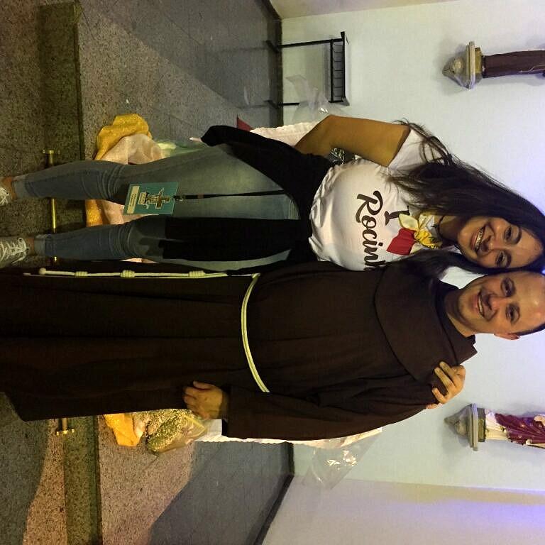 Mesmo sendo membro ativo da Paróquia Nossa Senhora da Conceição, a catarinense Rafaela Scherer é alvo do moralismo de amigos religiosos dos pais (Foto: Arquivo Pessoal)