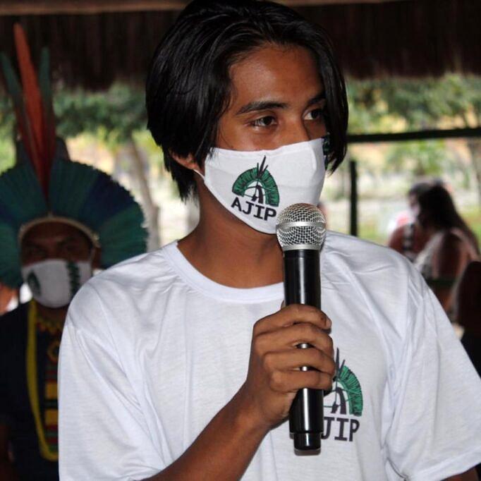 """""""Enquanto indígena e liderança, entrar nessa luta e dar a cara é importante porque encoraja outros"""", diz Emerson Pataxó (Foto: Arquivo Pessoal)"""