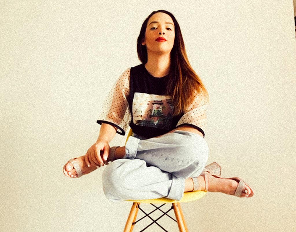 Anne Celestino Mota fotografada por Ana Barbosa para a Revista Híbrida