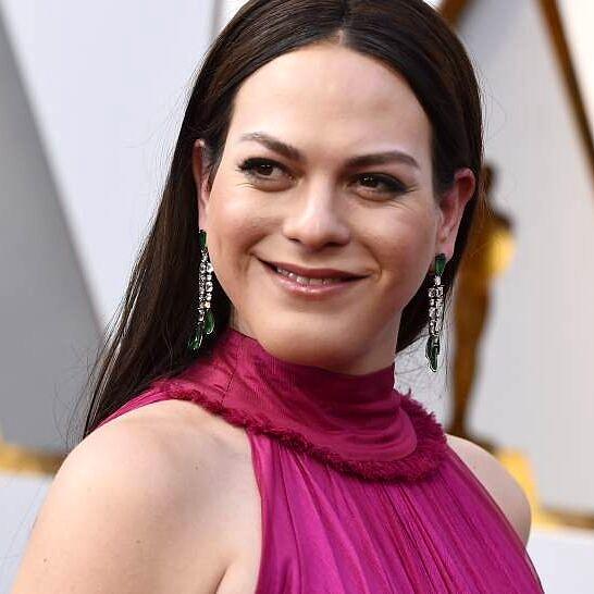 Daniela Vega foi a primeira atriz transexual a apresentar uma categoria do Oscar (Foto: GTRESONLINE)