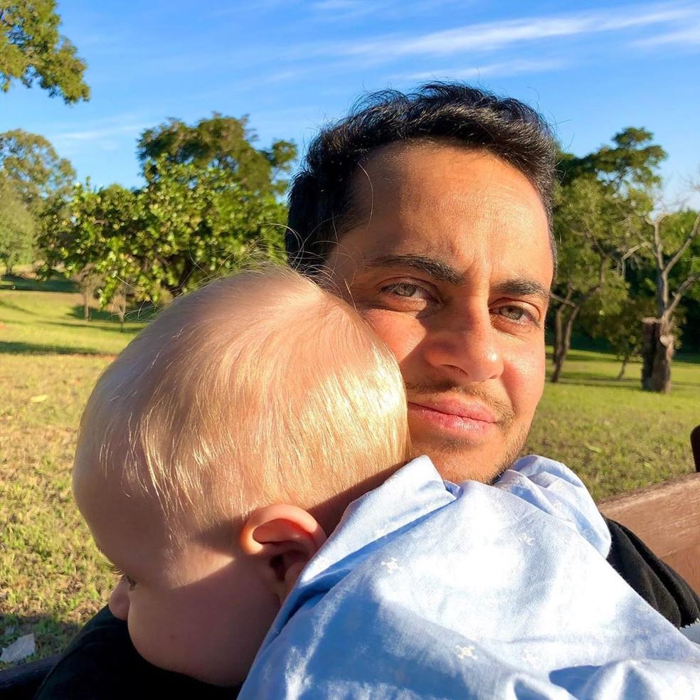 Campanha da Natura com Thammy Miranda para o Dia dos Pais sofreu ataques transfóbicos nas redes (Foto: Reprodução)