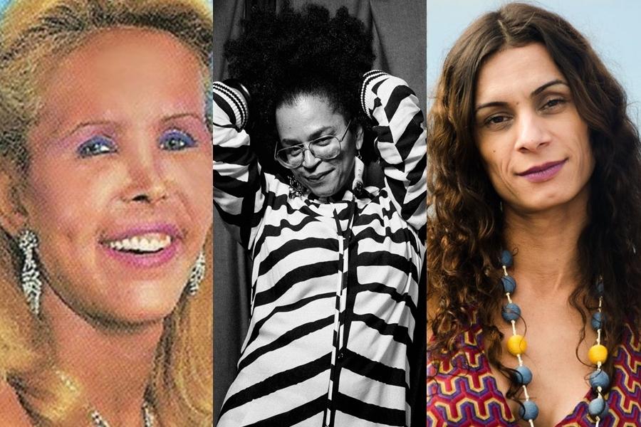 Dia da Visibilidade Trans: Brenda Lee, Neon Cunha e Renata Carvalho (foto: Reprodução)