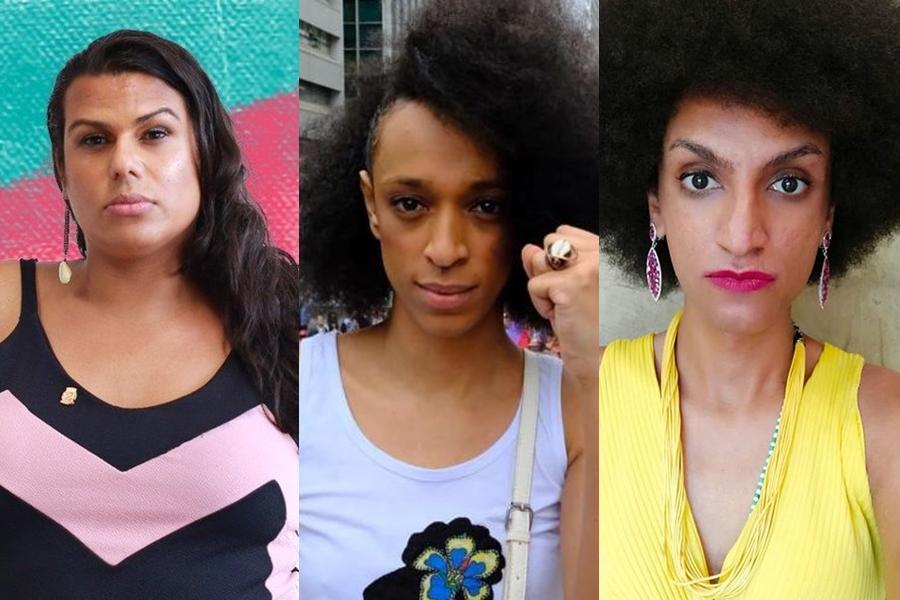 As vereadoras paulistas Samara Sosthenes, Érika Hilton e Carolina Iara registraram boletins de ocorrência na Semana da Visibilidade Trans contra ataques e ameaças