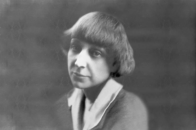 Marina Tsvetaeva, poetisa com quem Sophia manteve um de seus maiores e principais romances (foto: Reprodução)