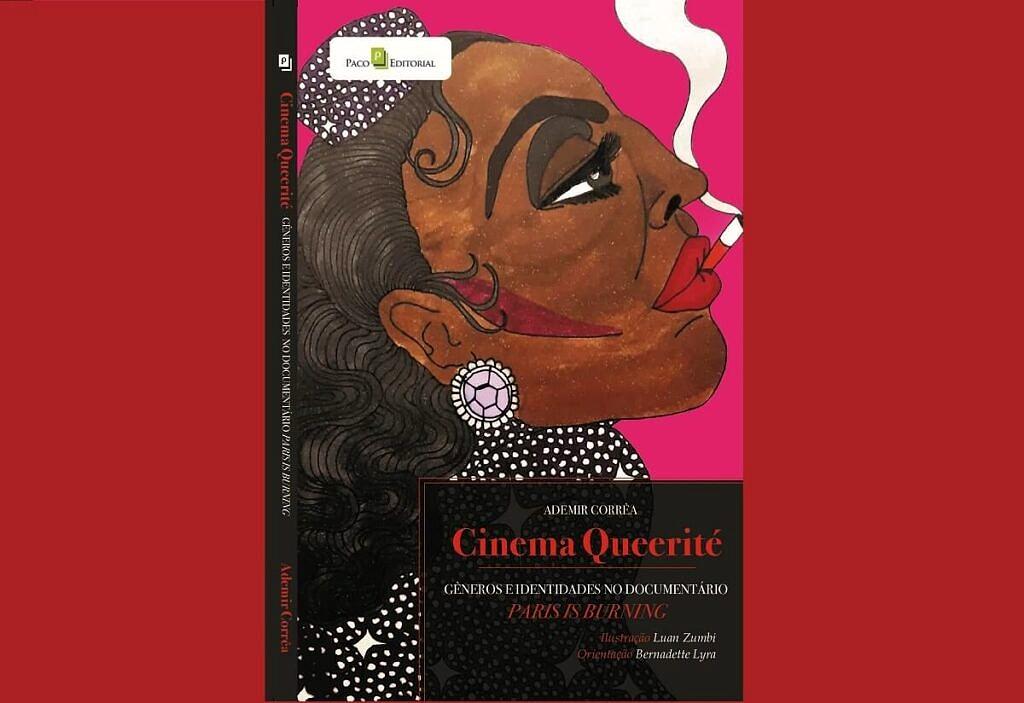 """Capa do livro """"Cinema Queerité"""" (Reprodução)"""