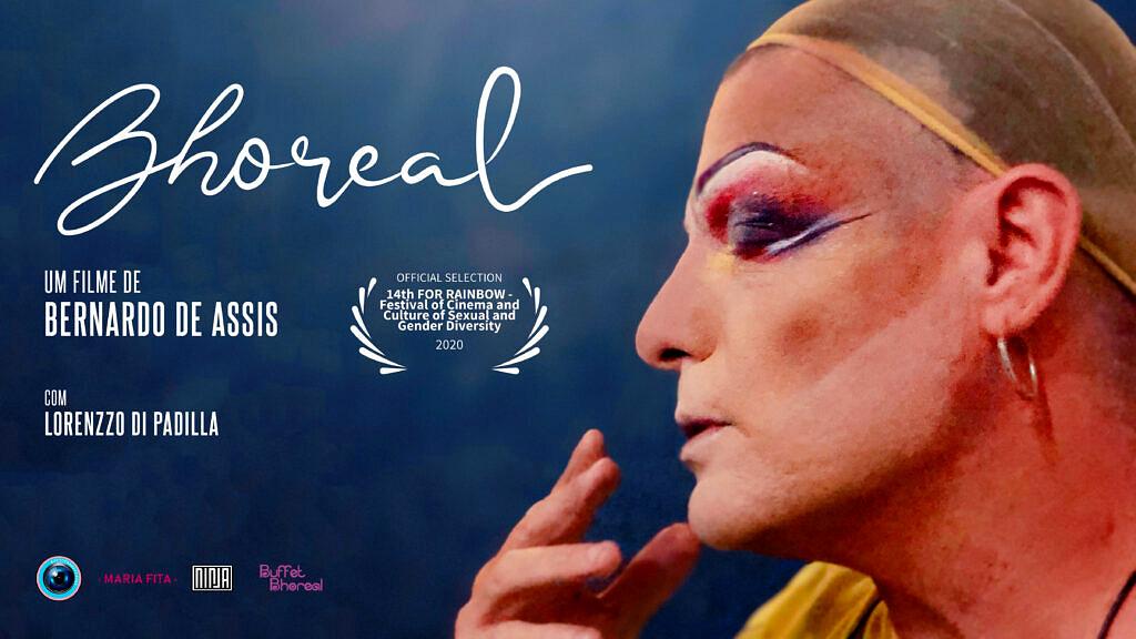 """A história de Lorenzzo Di Padilla e sua drag Gervásia Bhoreal são a alma do documentário """"Bhoreal"""" (Foto: Divulgação)"""