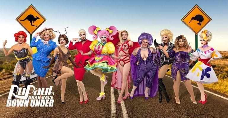 Conheça o elenco oficial da 1ª edição de RuPaul's Drag Race Down Under