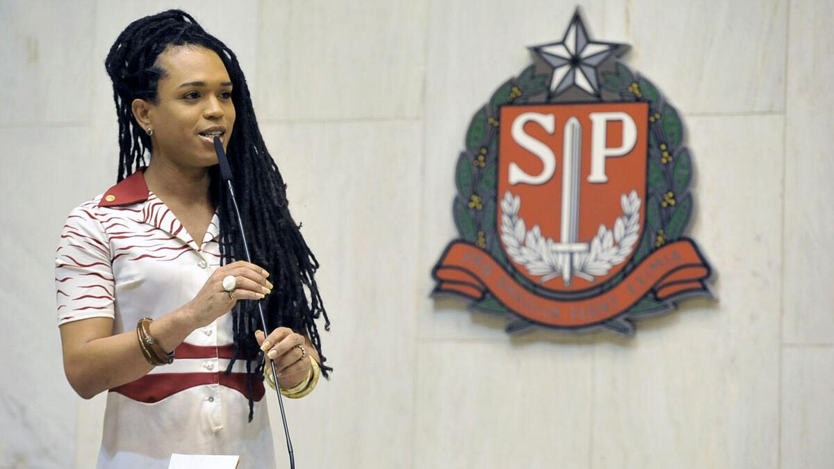 Emenda proposta pela deputada Erica Malunguinho alterou o teor original do PL 504/2020 (Foto: Carol Jacob | Alesp)