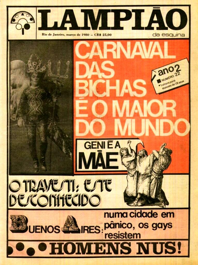 Edição d'O Lampião da Esquina publicada em março de 1980 (foto: Reprodução)