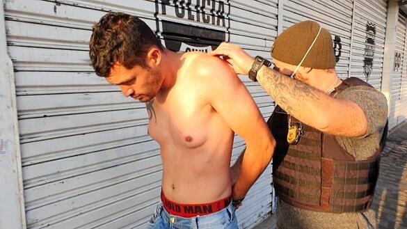 """José Tiago Correia Sokora, o """"serial killer"""" do Sul, foi preso neste sábado pela Polícia Civil do Paraná (Foto: Divulgação)"""