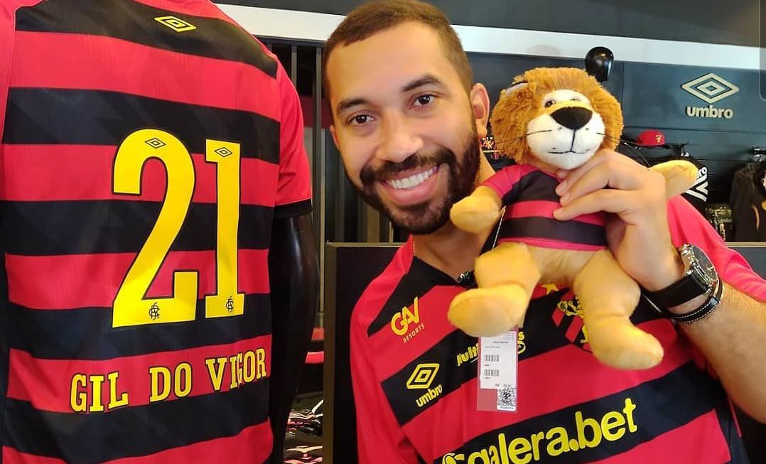 Gil do Vigor foi vítima de ofensas homofóbicas por parte de conselheiro do Sport Club do Recife (Foto: Reprodução)