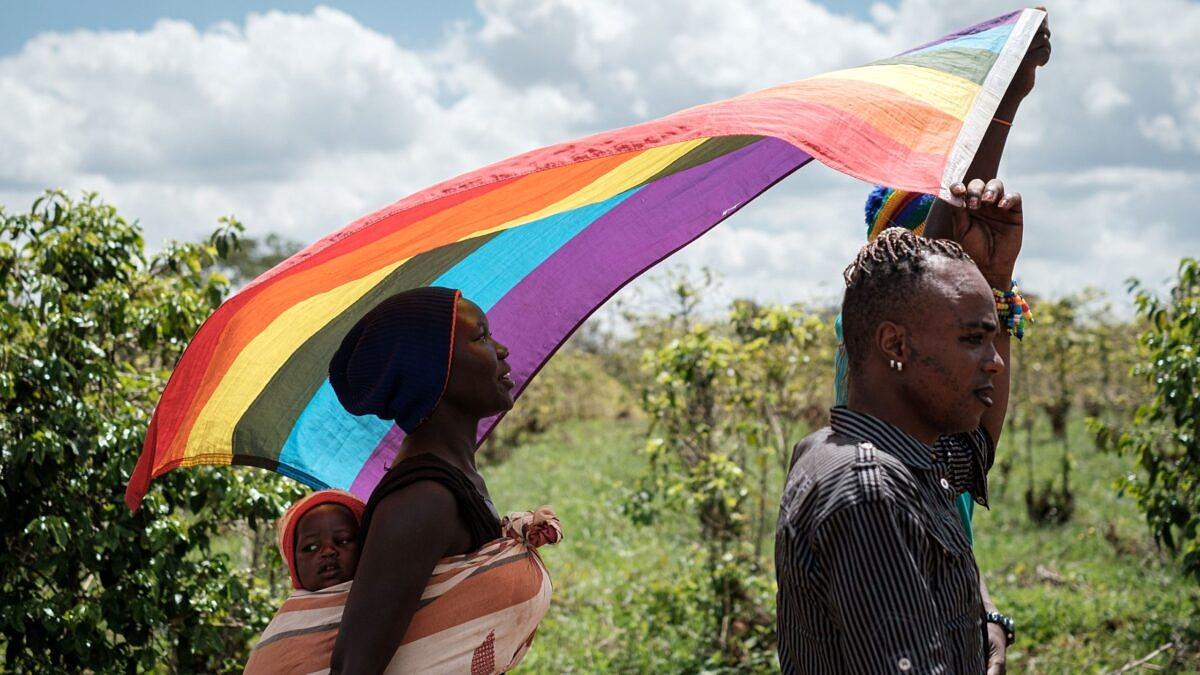 Em Uganda, PL que penaliza prática sexual entre pessoas do mesmo gênero é aprovado (Foto: Yasuyoshi CHIBA/AFP)