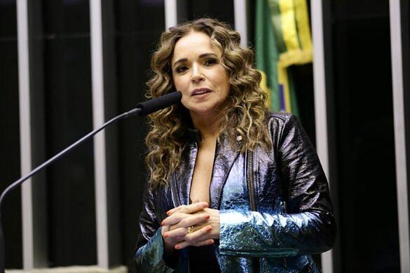 Daniela Mercury reuniu membros do Conselho Nacional de Justiça para debater a liberdade de expressão: 'Calar os artistas é calar o povo' (Foto: Michel Jesus | Câmara dos Deputados)
