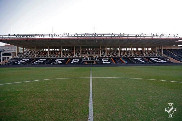 """Vasco da Gama também estampou """"Respeito"""" no estádio São Januário (Foto: Divulgação)"""