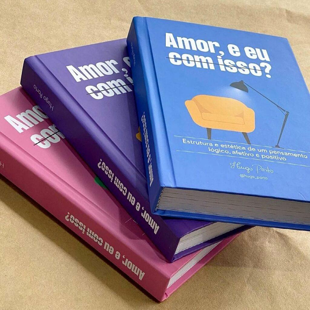 """As três versões da edição limitada de """"Amor, e eu com isso?"""" (Foto: Divulgação)"""