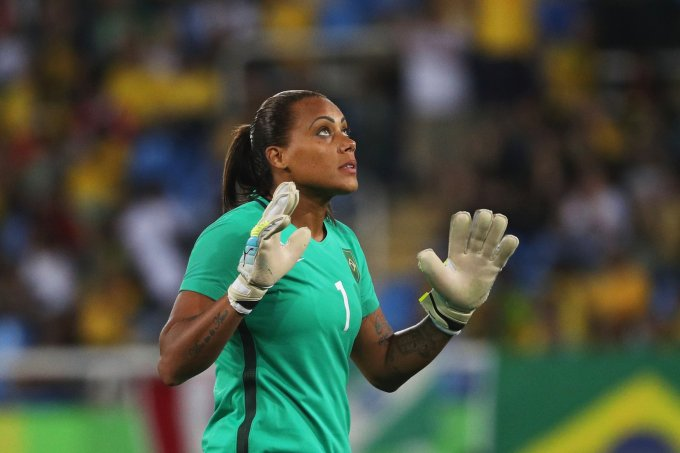 Bárbara Barbosa - Futebol / Brasil (Foto: Patrick Smith/Getty Images)