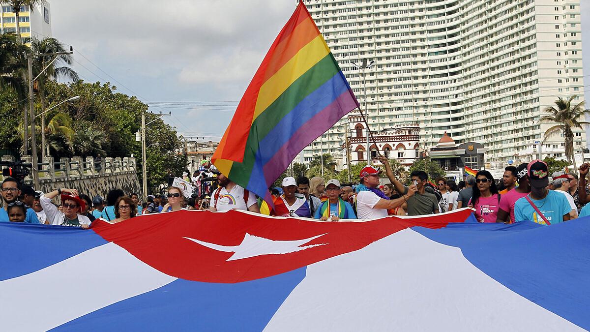 Comunidade LGBTI+ de Cuba organiza marcha em Havana (Ernesto Mastrascusa | LatinContent | Getty Images)