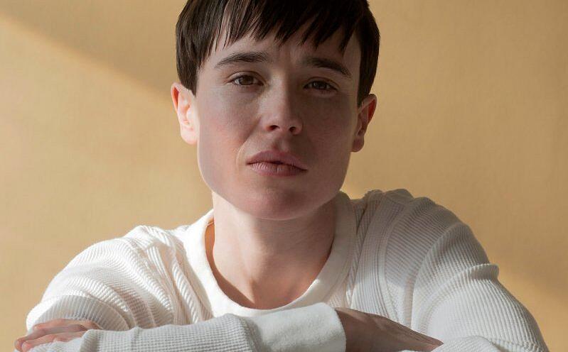 Elliot Page se identifica como transgênero, queer e não-binário (Foto: Wynne Neilly/Time)